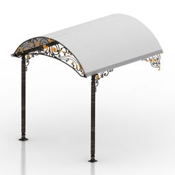Canopy 3D Model 031b5254