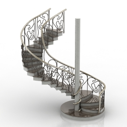Stair 3D Model dd7c4f1e